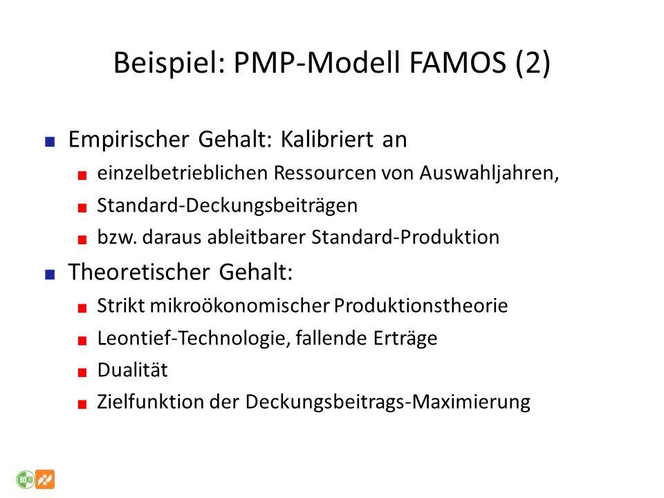 Beispiel: PMP-Modell FAMOS (2)