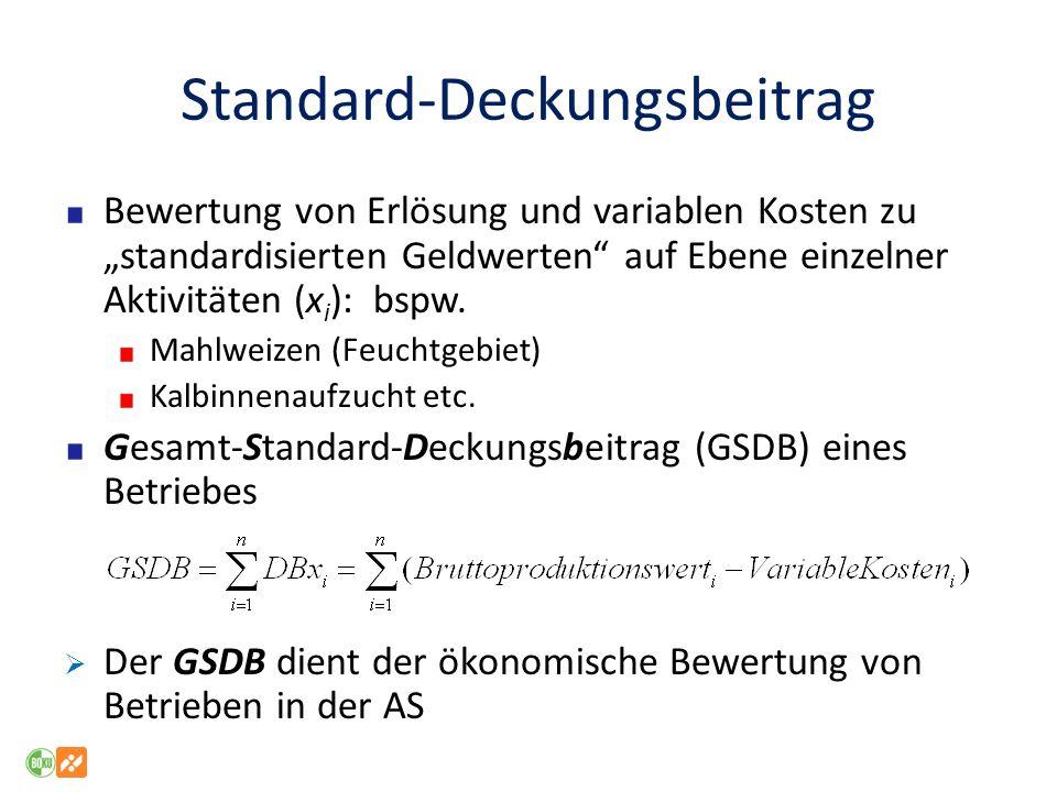 Standard-Deckungsbeitrag