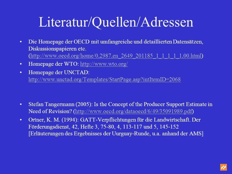 Literatur/Quellen/Adressen