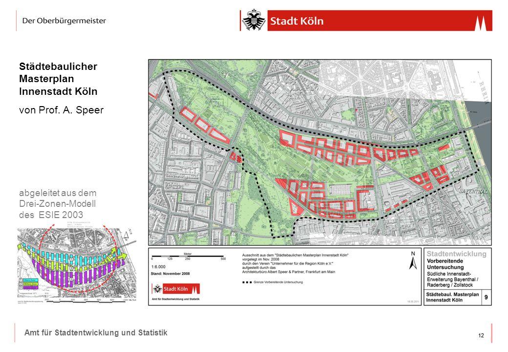 Städtebaulicher Masterplan Innenstadt Köln