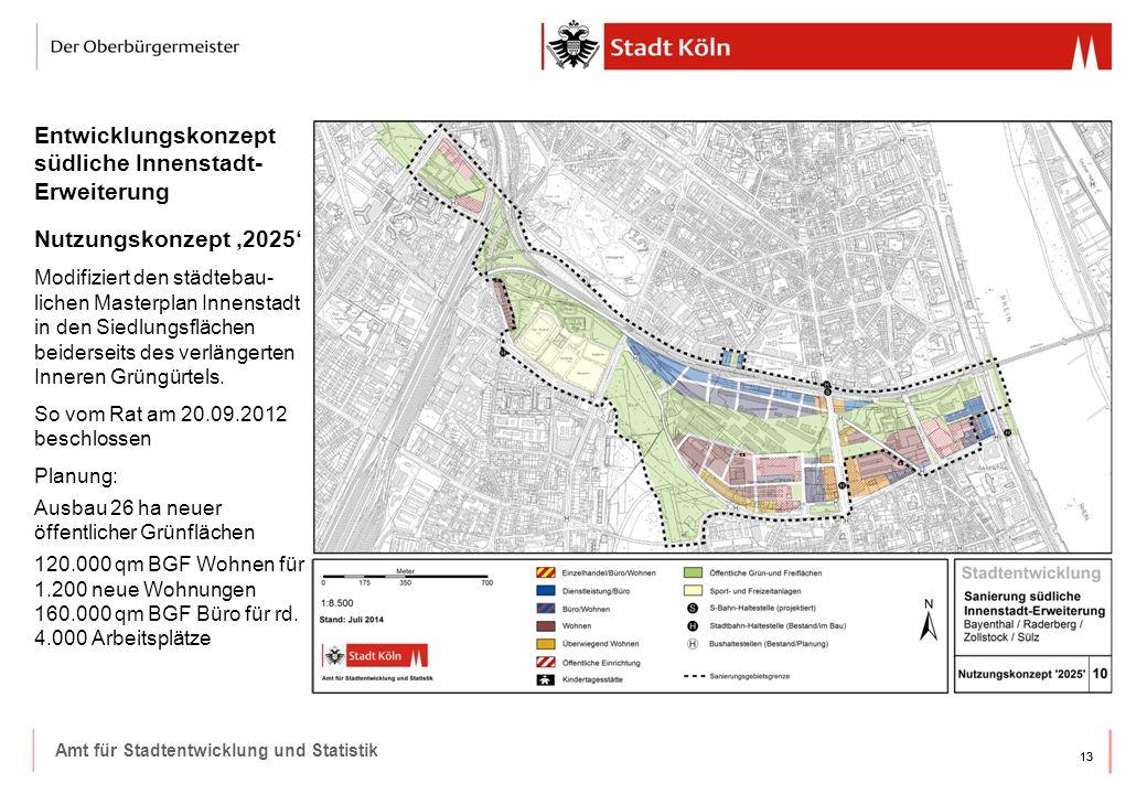 Entwicklungskonzept südliche Innenstadt-Erweiterung