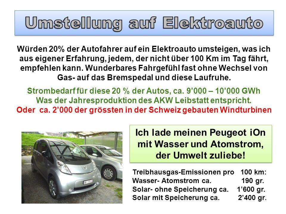 Umstellung auf Elektroauto