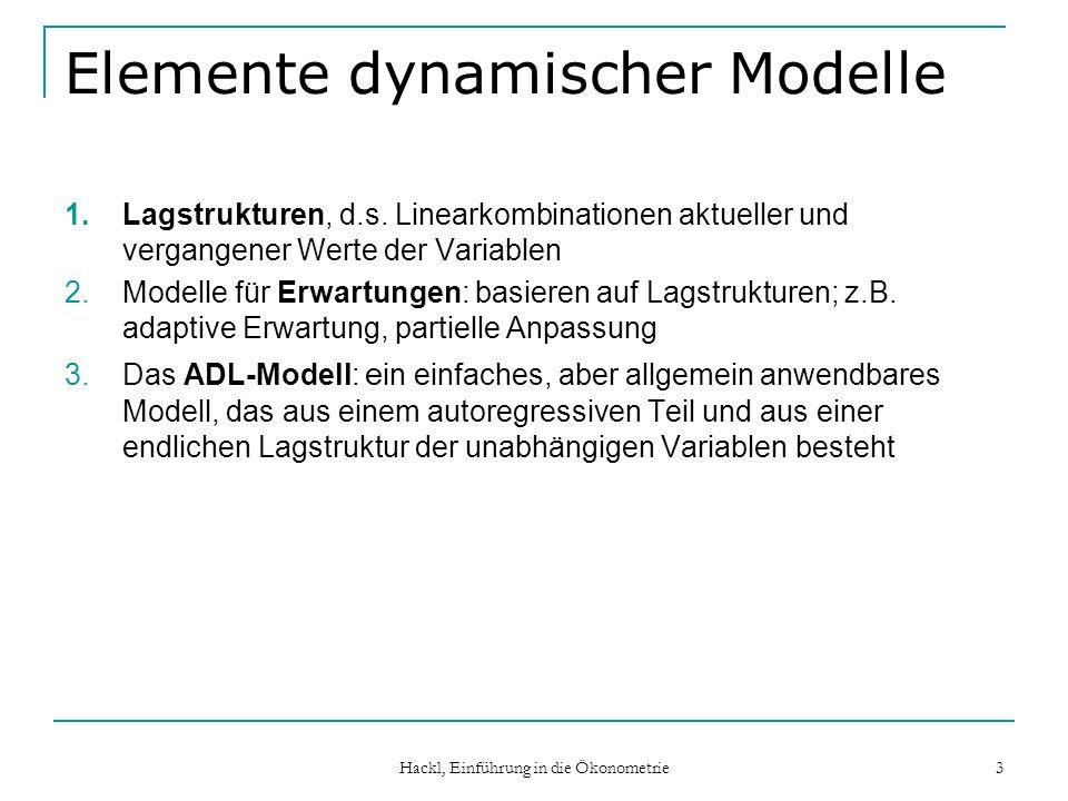 Elemente dynamischer Modelle