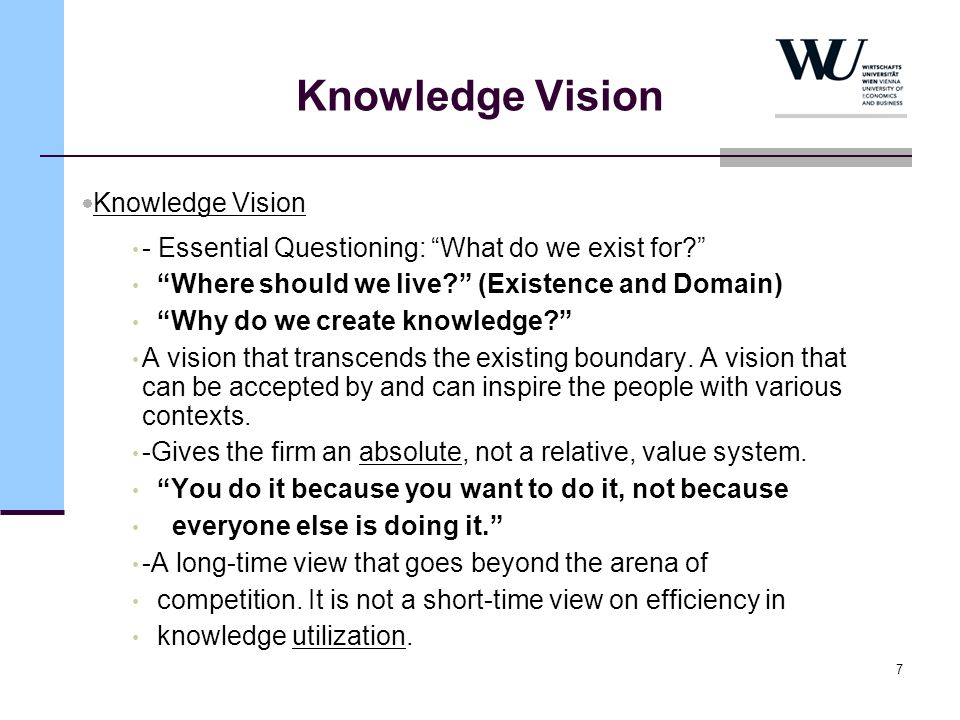 Knowledge Vision Knowledge Vision