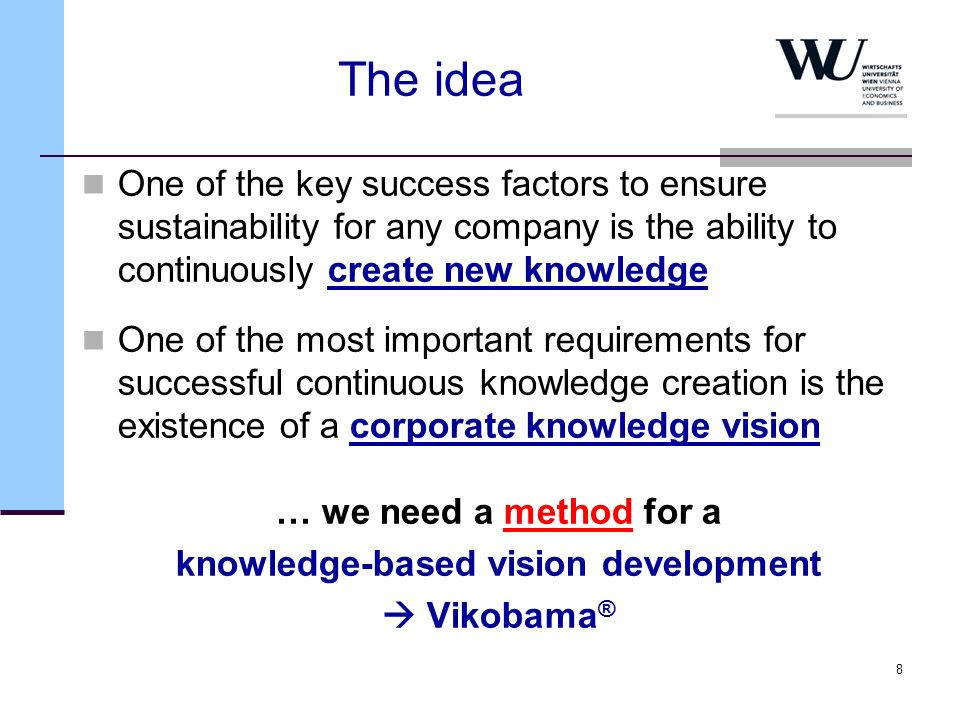 knowledge-based vision development