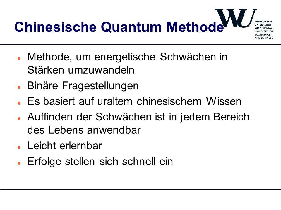 Chinesische Quantum Methode