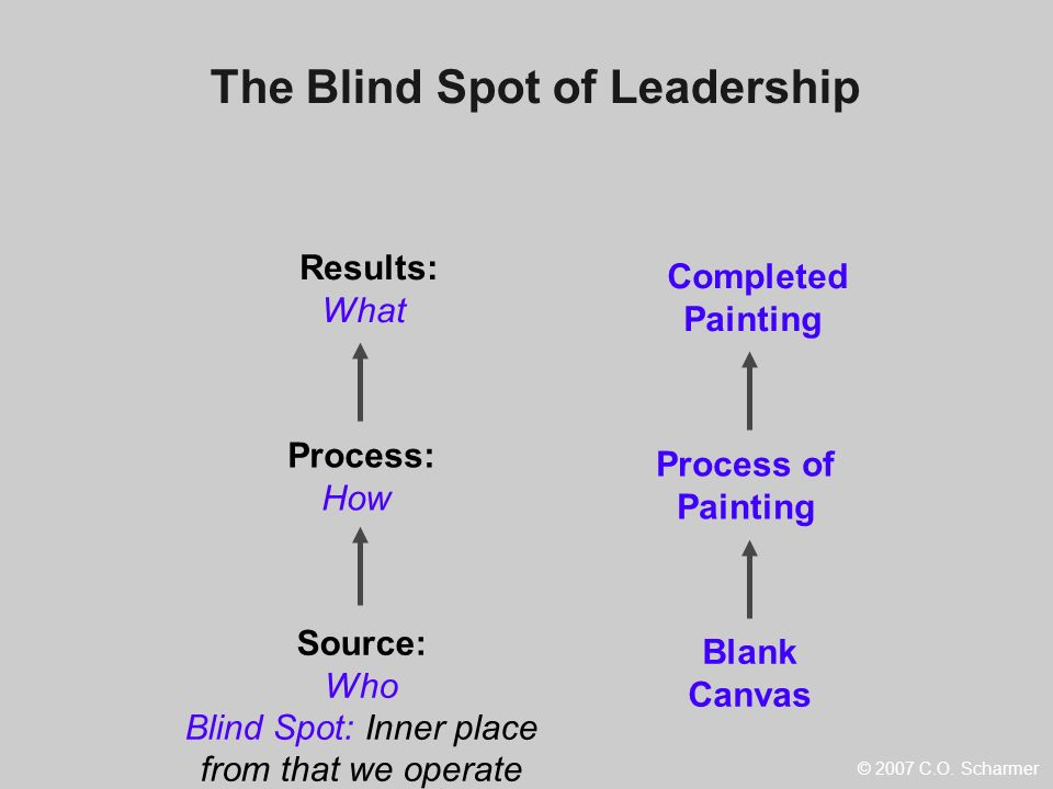 The Blind Spot of Leadership