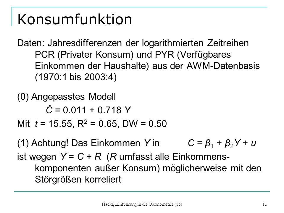 Hackl, Einführung in die Ökonometrie (15)