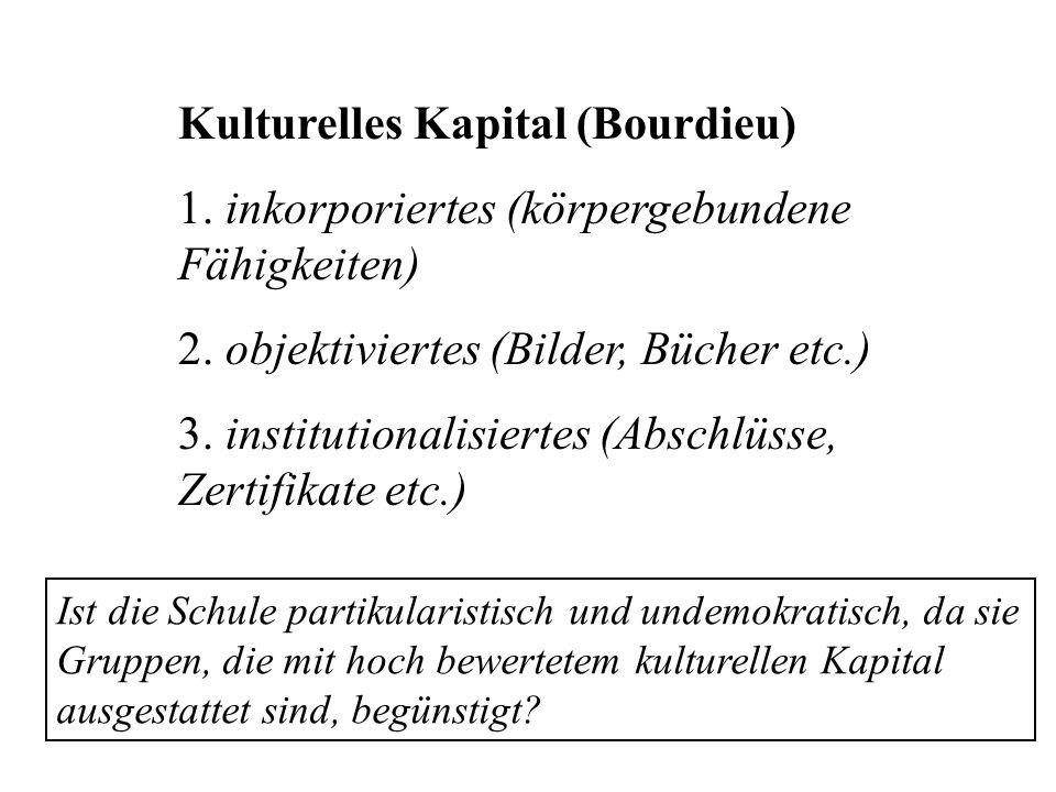 Kulturelles Kapital (Bourdieu)