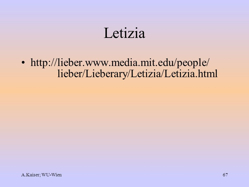 Letizia http://lieber.www.media.mit.edu/people/