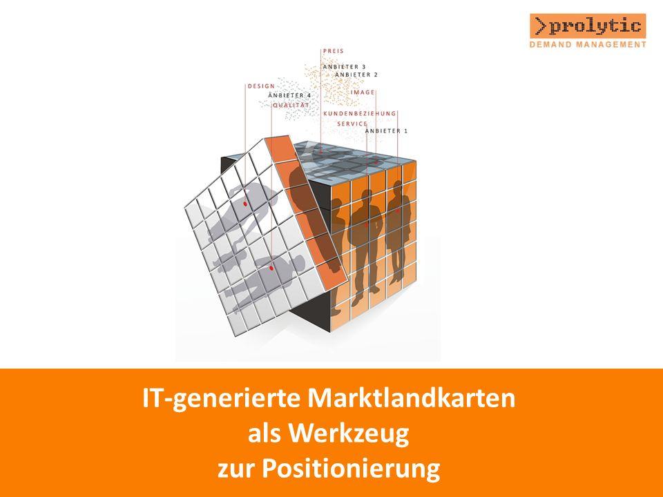 IT-generierte Marktlandkarten