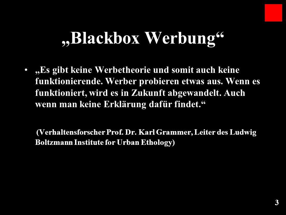"""""""Blackbox Werbung"""