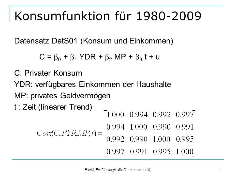 Hackl, Einführung in die Ökonometrie (10)