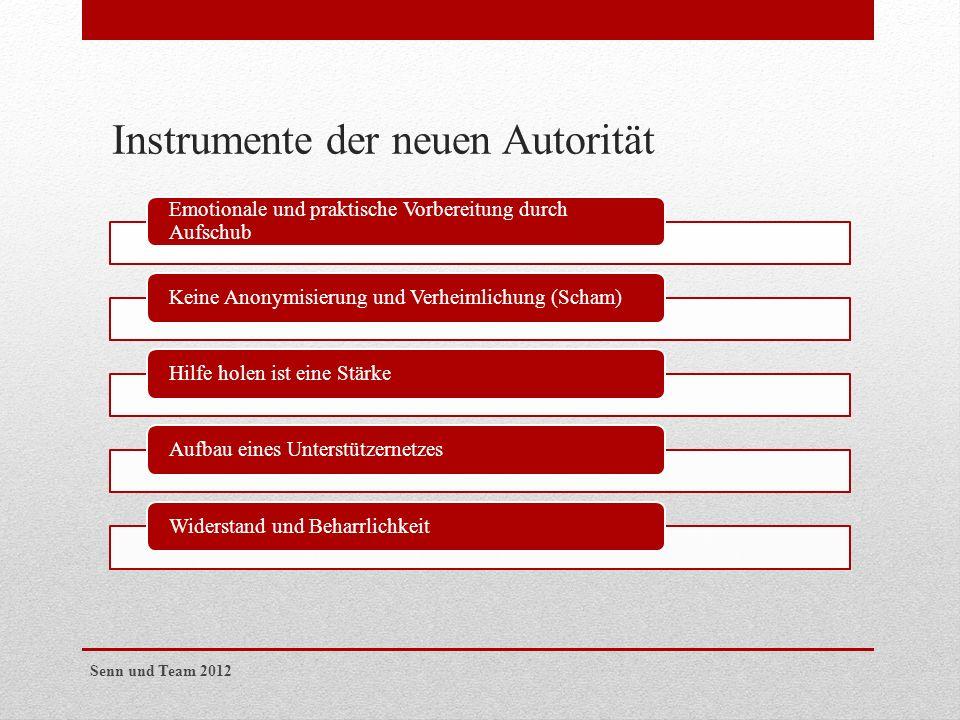 Instrumente der neuen Autorität