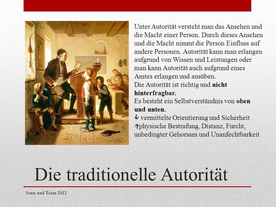 Die traditionelle Autorität