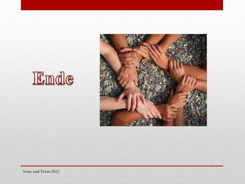 Ende Senn und Team 2012