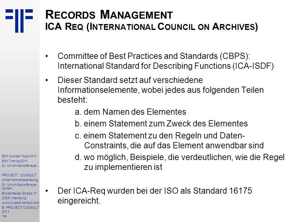 Records Management ICA Req (International Council on Archives)