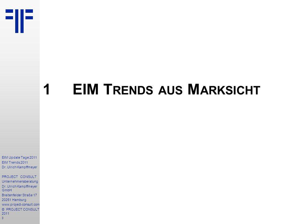 1 EIM Trends aus Marksicht