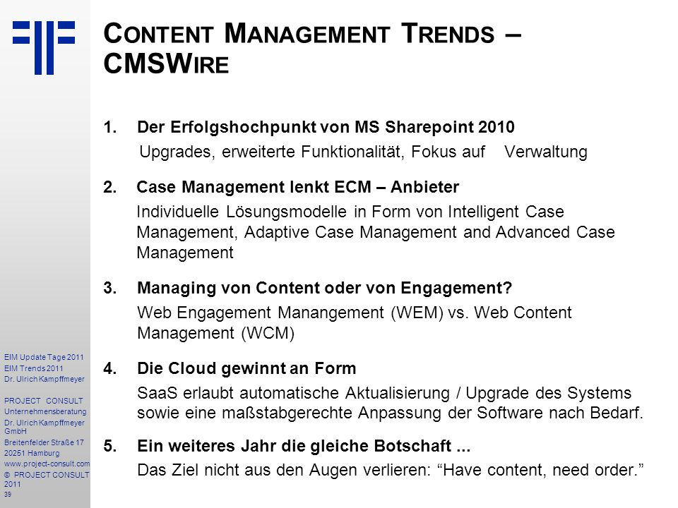 Content Management Trends – CMSWire