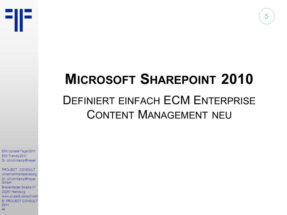 Definiert einfach ECM Enterprise Content Management neu
