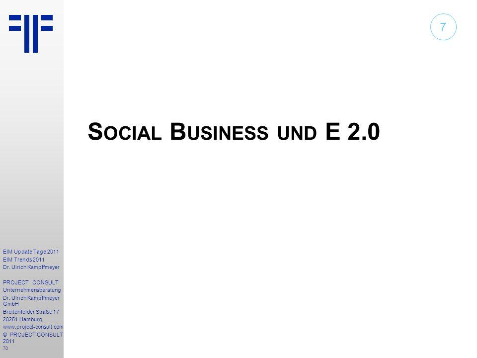 7 Social Business und E 2.0