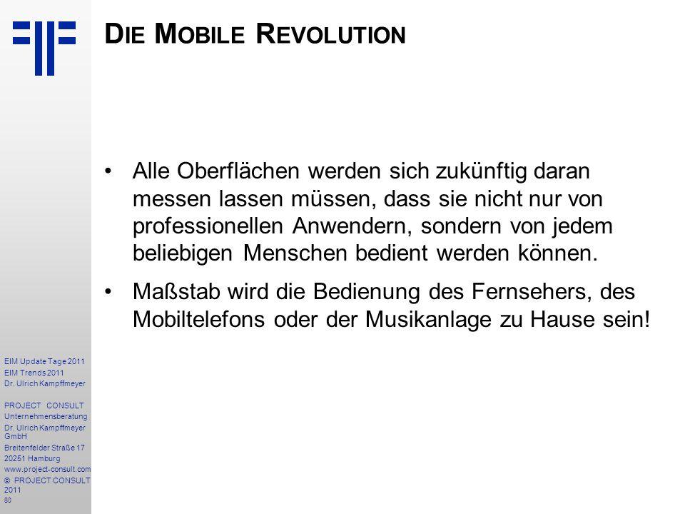 Die Mobile Revolution