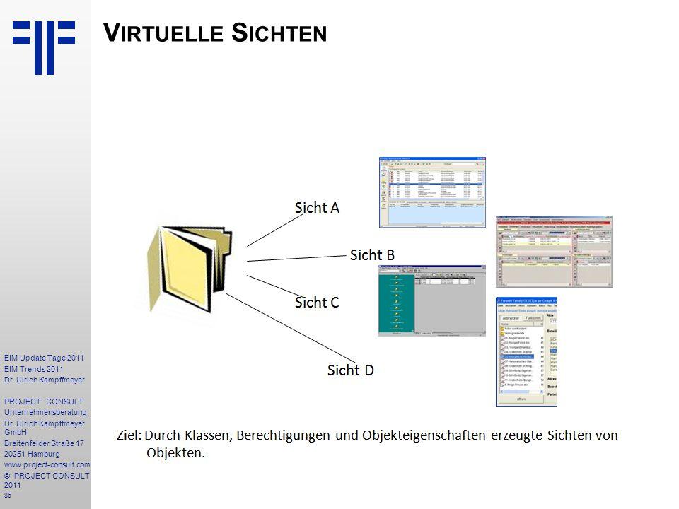 Virtuelle Sichten