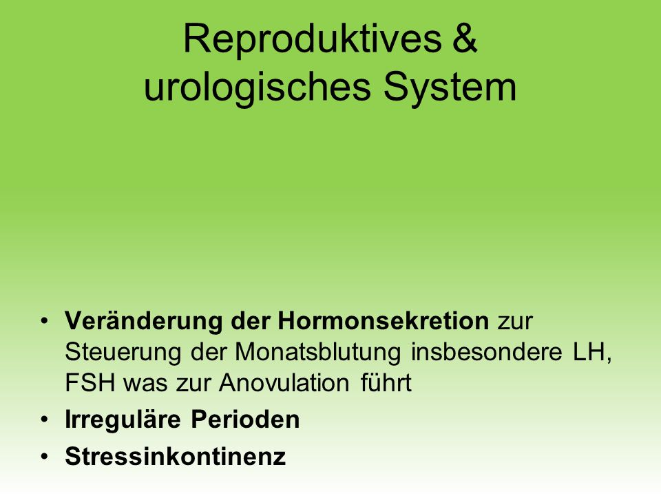 Reproduktives & urologisches System