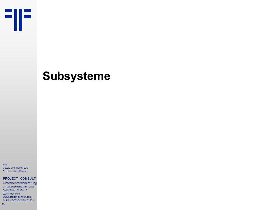 Subsysteme