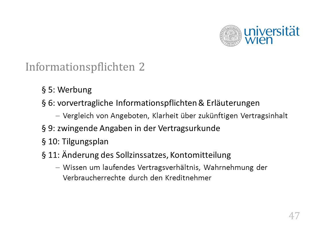 Informationspflichten 2