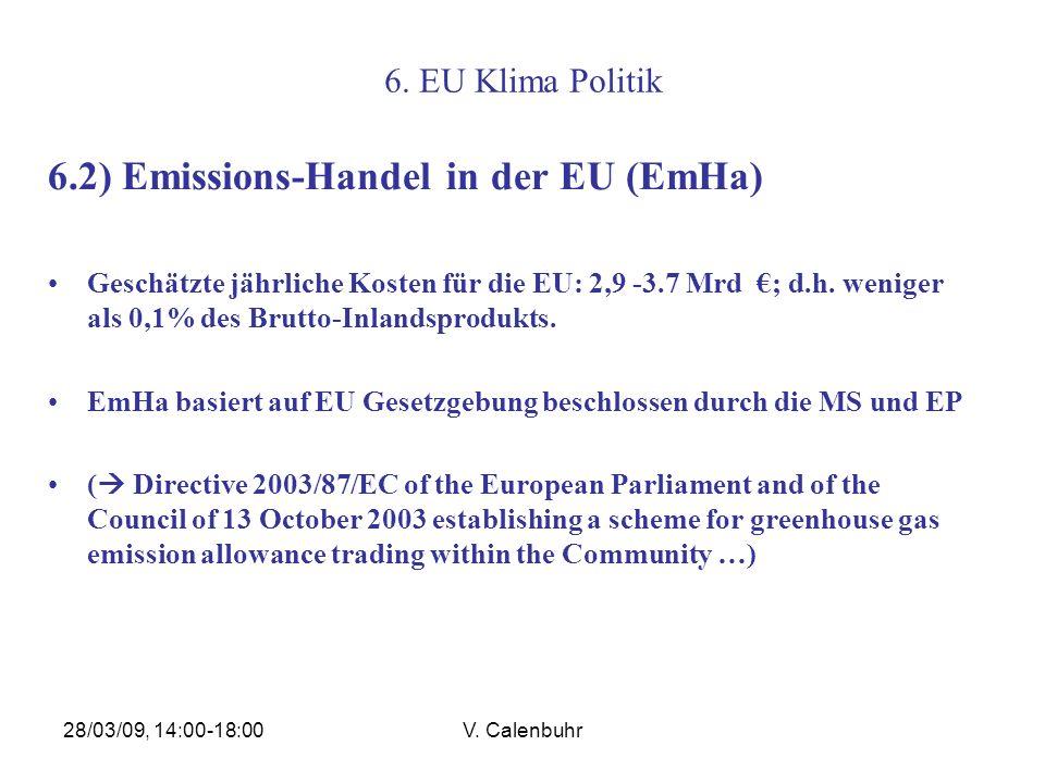 6.2) Emissions-Handel in der EU (EmHa)