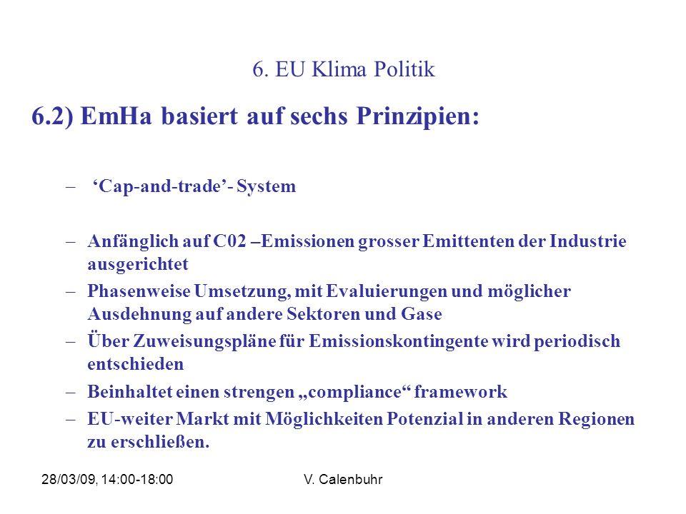6.2) EmHa basiert auf sechs Prinzipien: