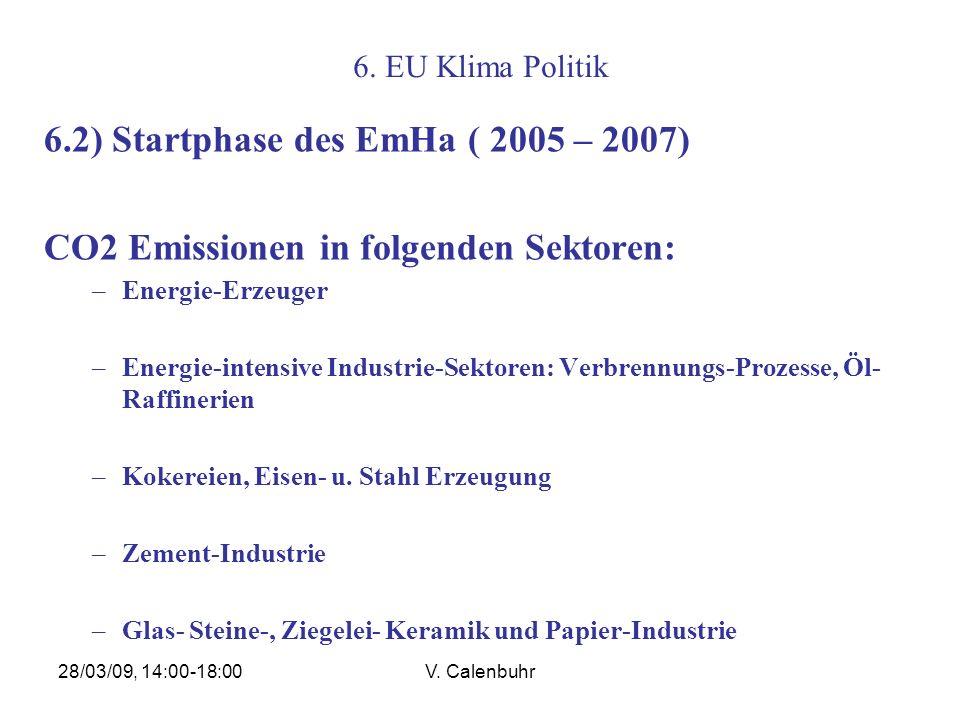 6.2) Startphase des EmHa ( 2005 – 2007)