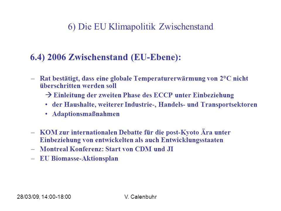 6) Die EU Klimapolitik Zwischenstand
