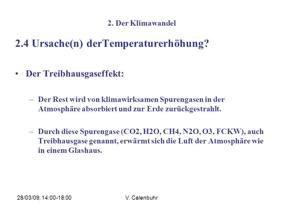 2.4 Ursache(n) derTemperaturerhöhung