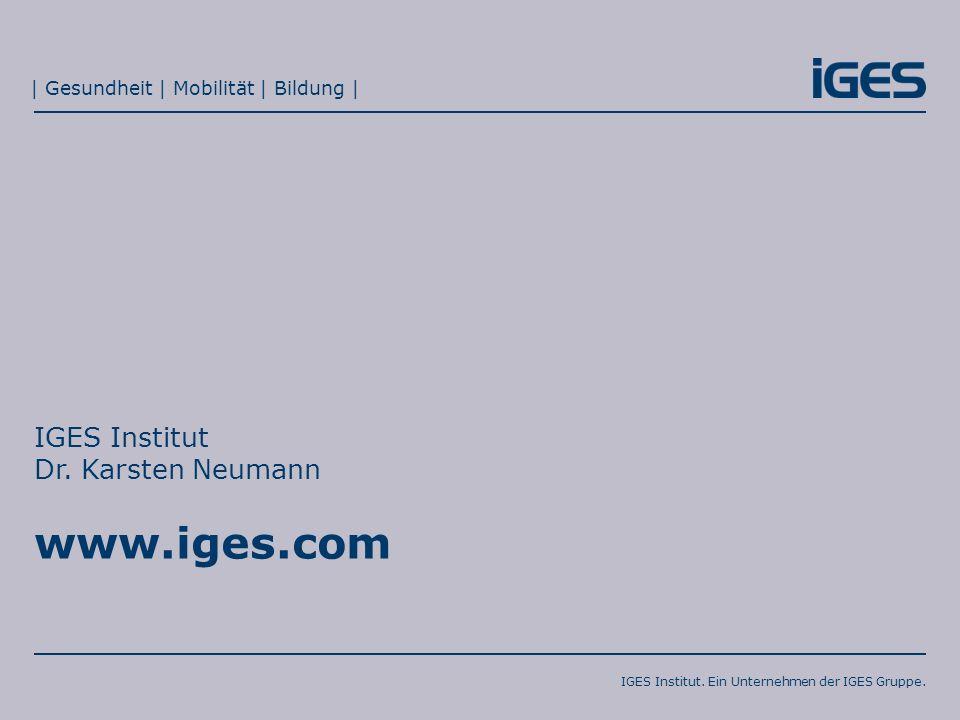 IGES Institut Dr. Karsten Neumann