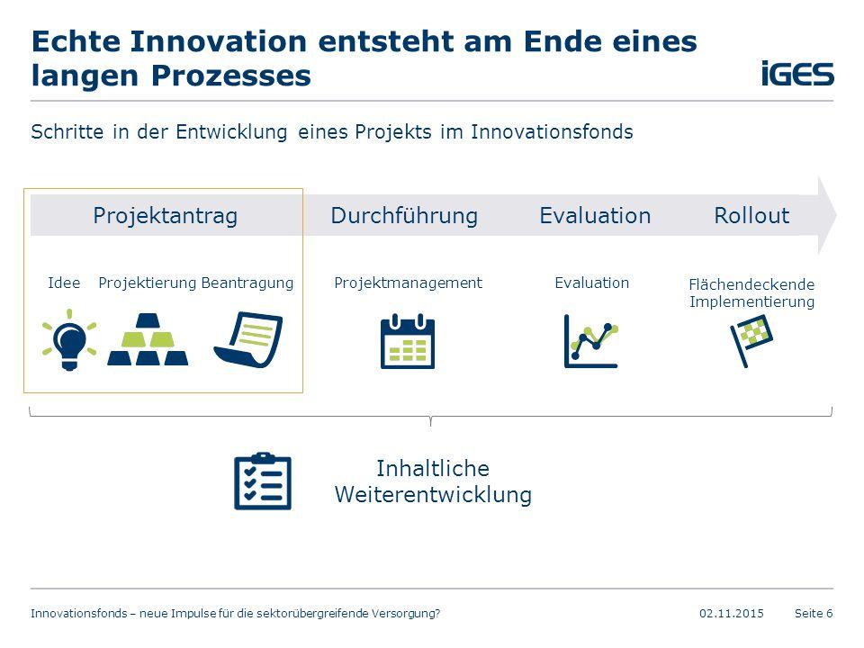 Echte Innovation entsteht am Ende eines langen Prozesses