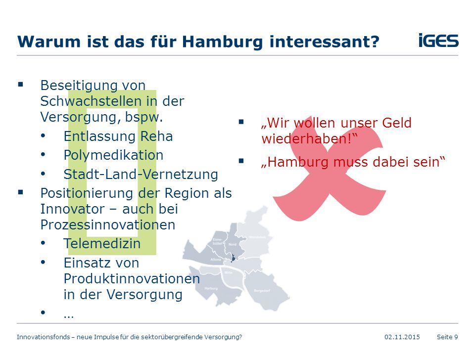 Warum ist das für Hamburg interessant