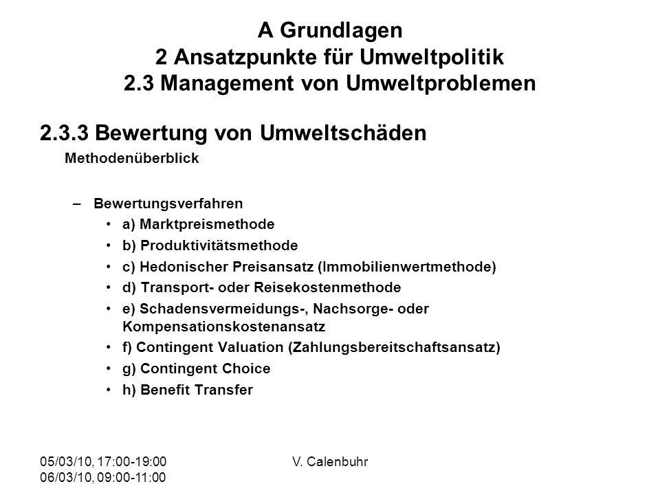 2.3.3 Bewertung von Umweltschäden