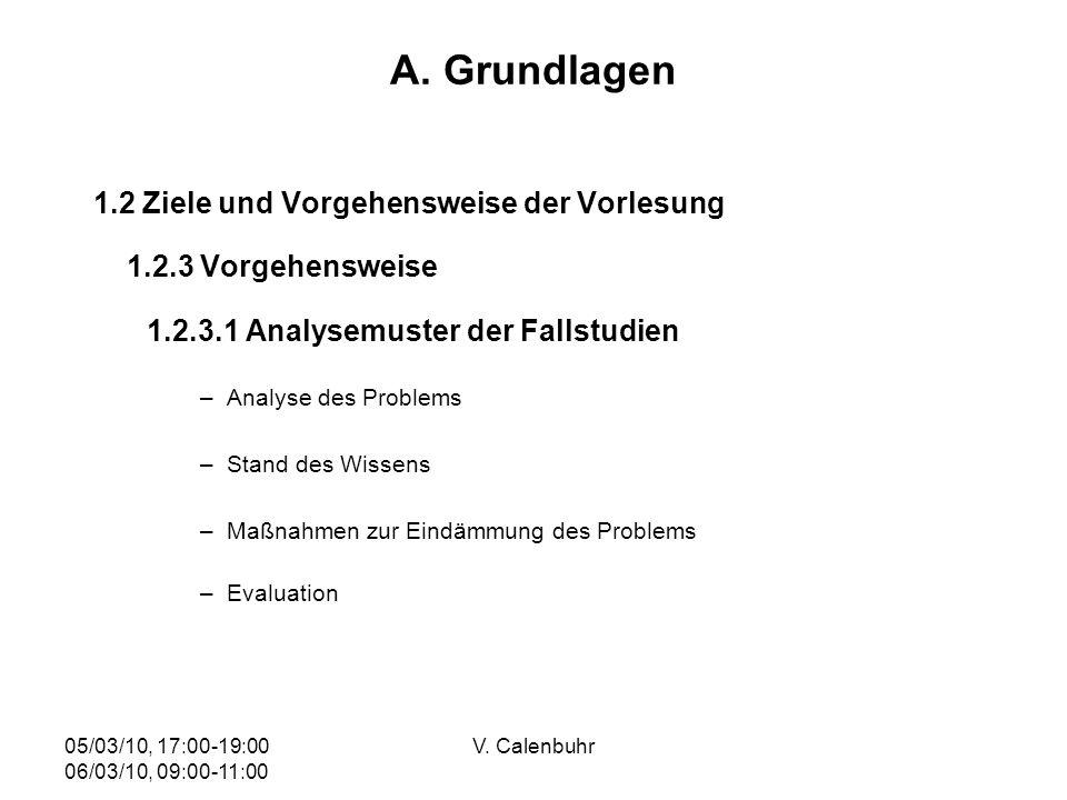 A. Grundlagen 1.2 Ziele und Vorgehensweise der Vorlesung