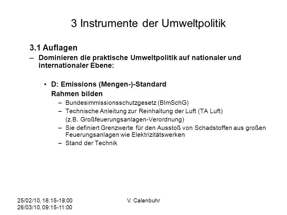 3 Instrumente der Umweltpolitik