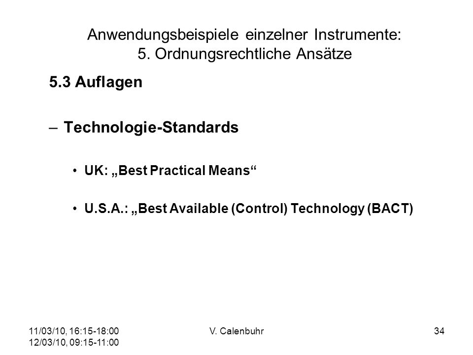 Technologie-Standards
