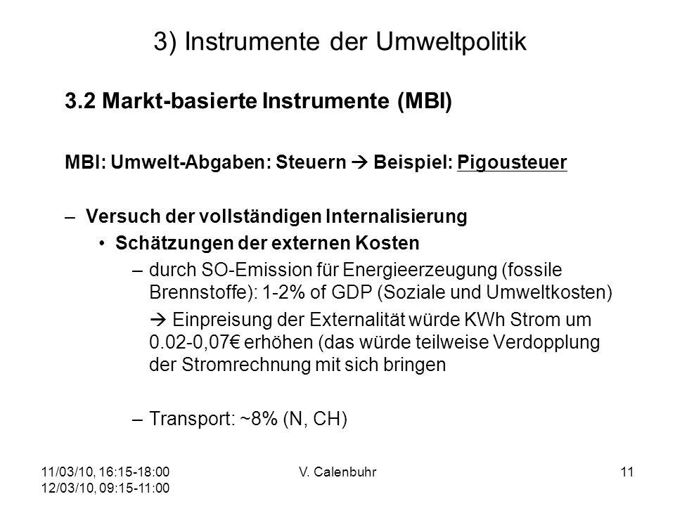 3) Instrumente der Umweltpolitik