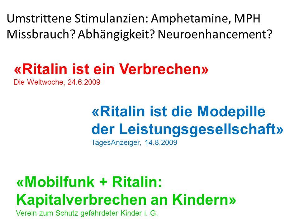 «Ritalin ist ein Verbrechen»