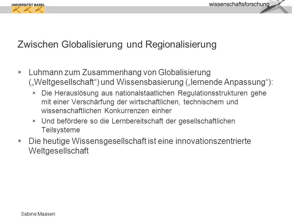 Zwischen Globalisierung und Regionalisierung