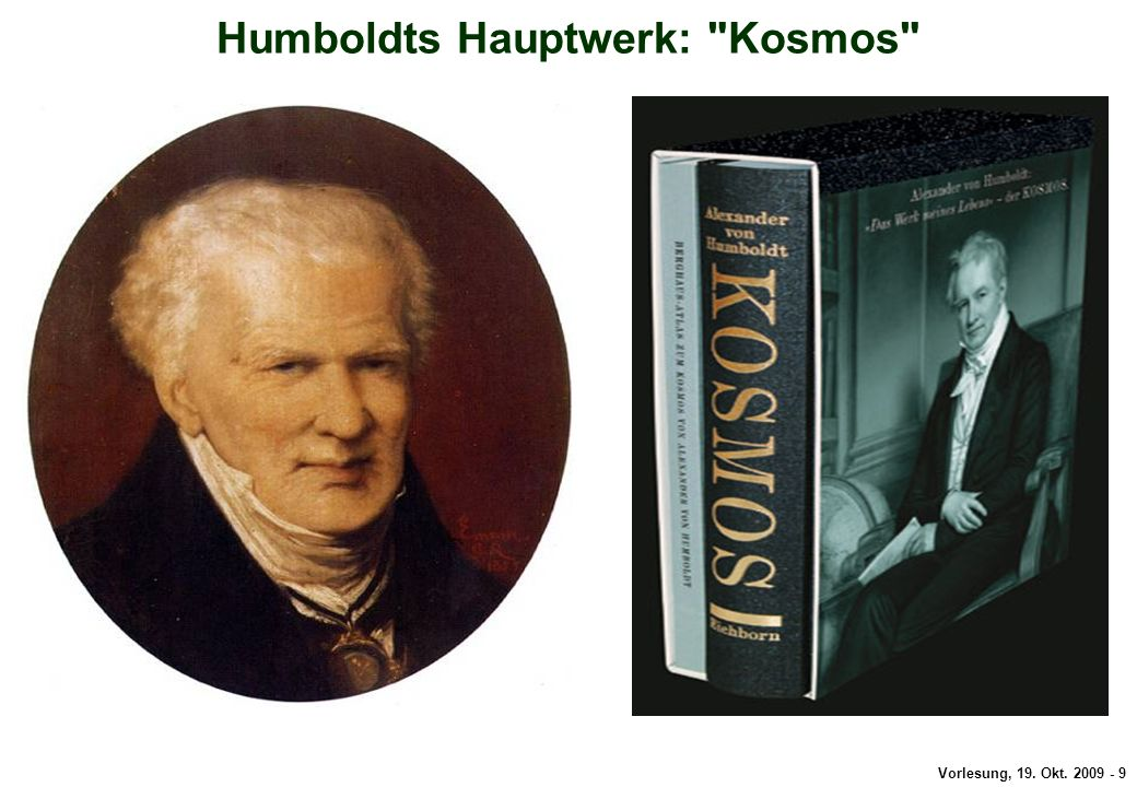 Humboldts Hauptwerk: Kosmos