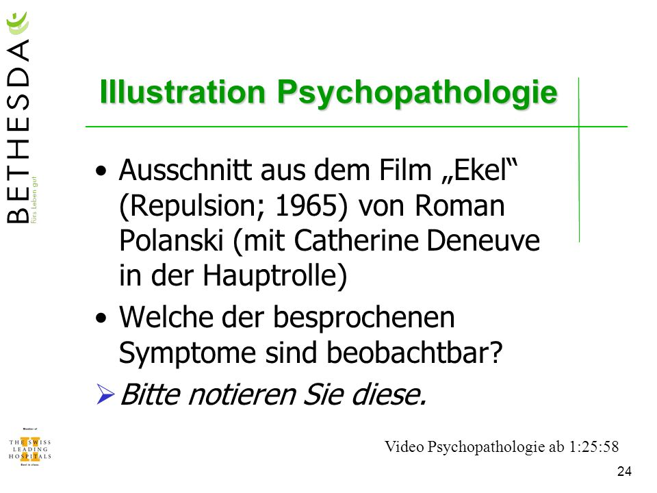 Illustration Psychopathologie