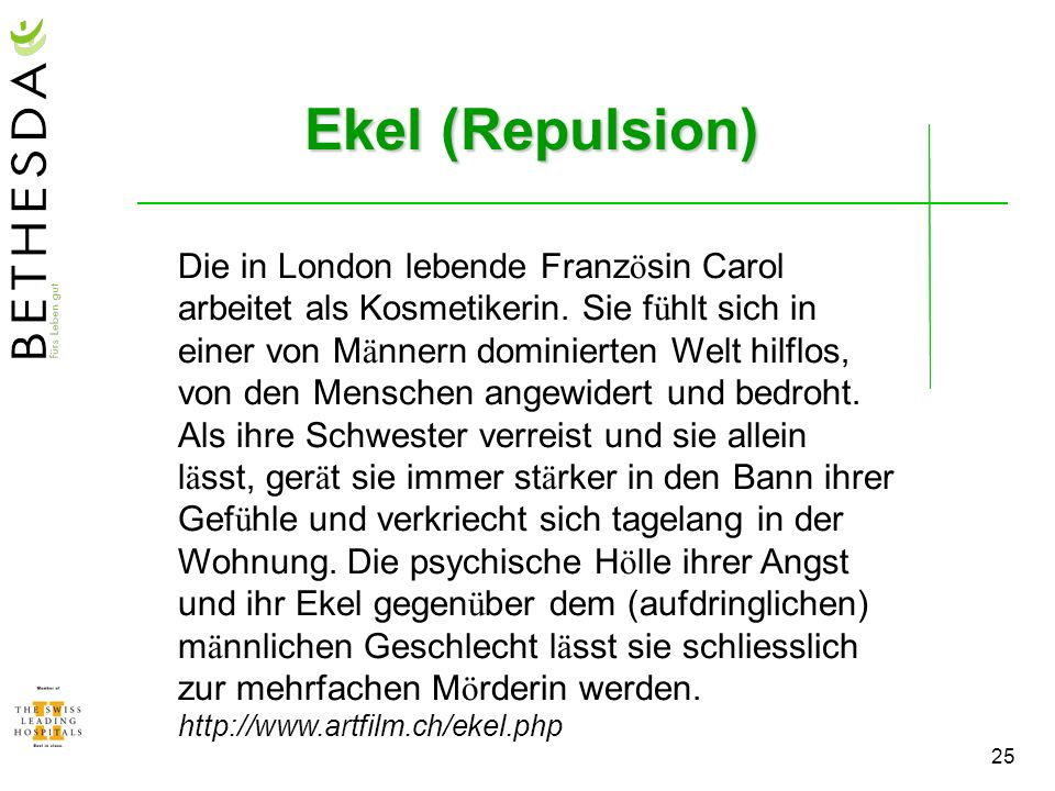 Ekel (Repulsion)