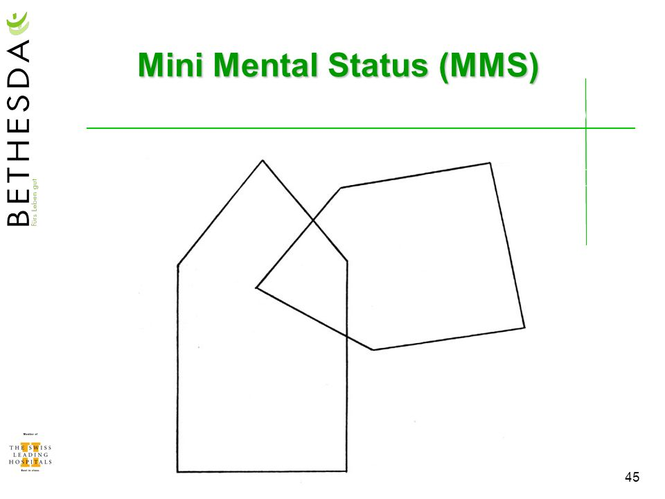 Mini Mental Status (MMS)