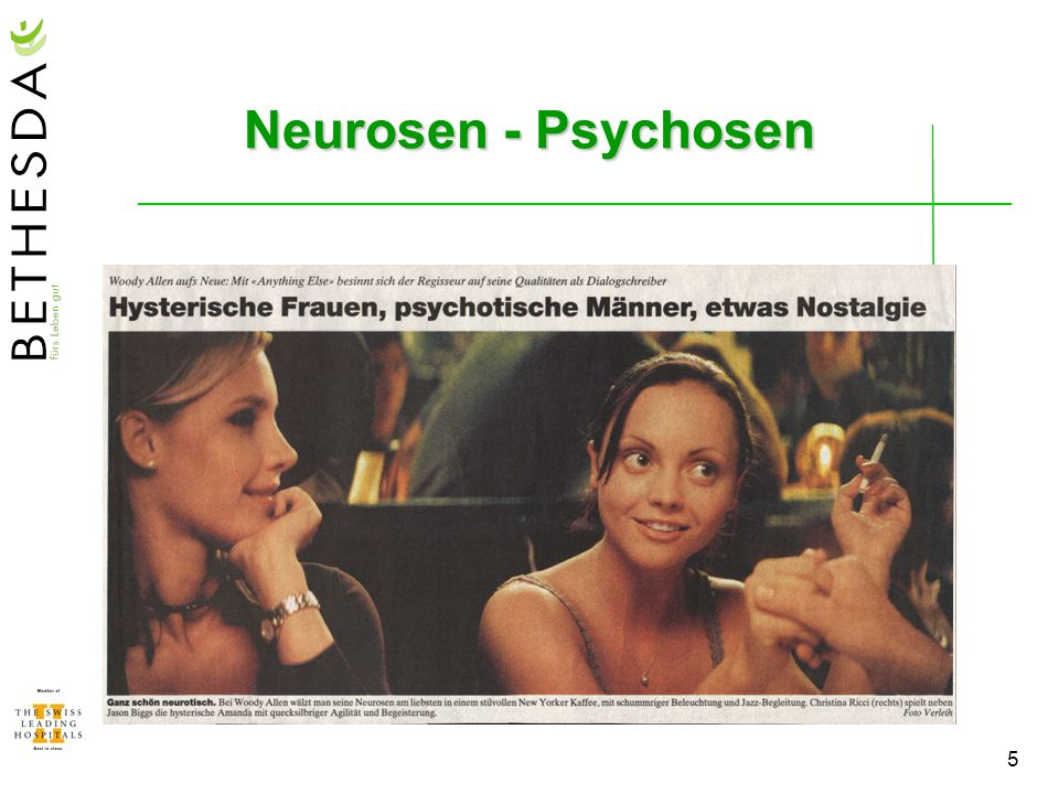 Neurosen - Psychosen